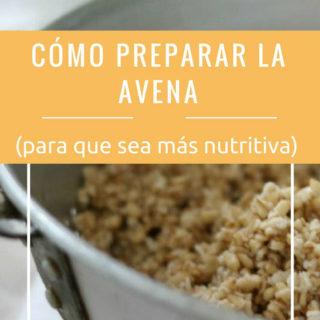 como-preparar-la-avena-mas-nutritiva-pinterest